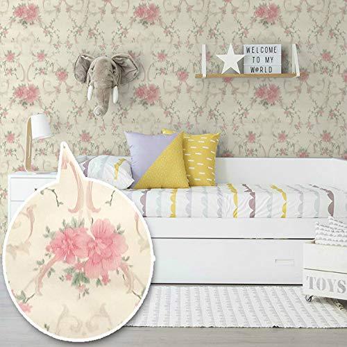 Adesivi murali rimovibili adesivi carta da parati autoadesiva impermeabile e a prova di olio arte camera da letto cucina bagno parete murale selezione di qualitš€ amore rosa -10 metri 10 metri * 45 cm