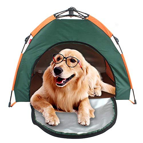 TSBB Pop-Up-Haustier-Zelt-Haus Tragbare Falten Freies Hundebett Pad wasserdichte Sonnenschutz Haustier Im Freien Hause Haustier-Zelt-Camping Beach Sun Shelter