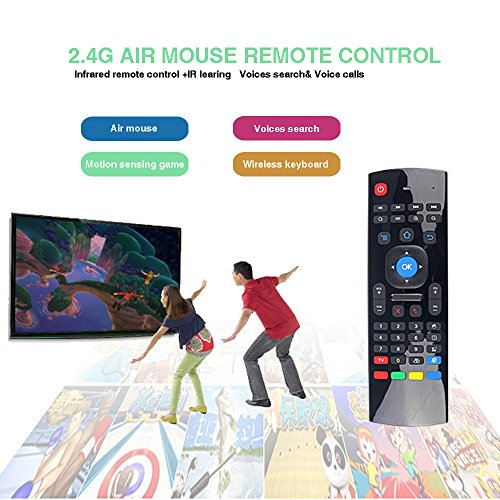 SAVFY MX3 Fly Air Mouse 2 4GHz Wireless Keyboard Remote