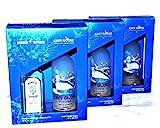 Grey Goose Vodka Bombay Sapphire Gin je 3Pakete Geschenk Set