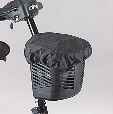 Bag/Liner and Cover for a Mobility Scooter Basket.