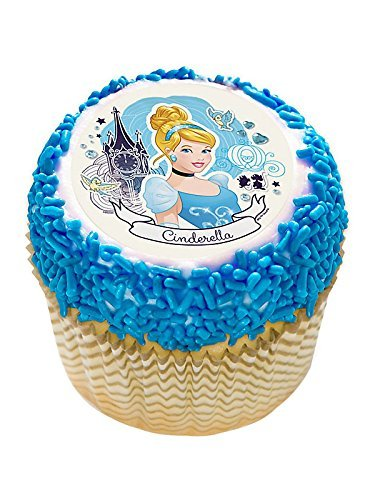 Cinderella 2 Edible Cupcake Topper (12 Images) - Party Supplies by DecoPac