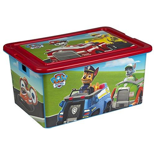 ColorBaby - Caja ordenación 35 litros, diseño paw patrol (76727)