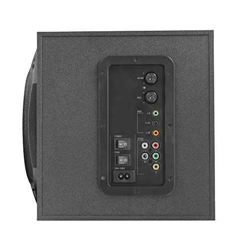 Trust Vigor 5.1 Surround Lautsprecher Set (mit Fernbedienung, 150 Watt) schwarz - 3
