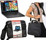 Navitech Schwarz prime Case / Cover Trage Tasche für das Dell 14 Rugged Extreme / Dell Alienware 13 R2