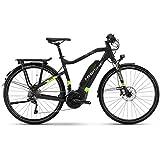 Vélo électrique Haibike Sduro Trekking 6.0- Pour homme - 500Wh, schwarz/grün/titan, 56 cm