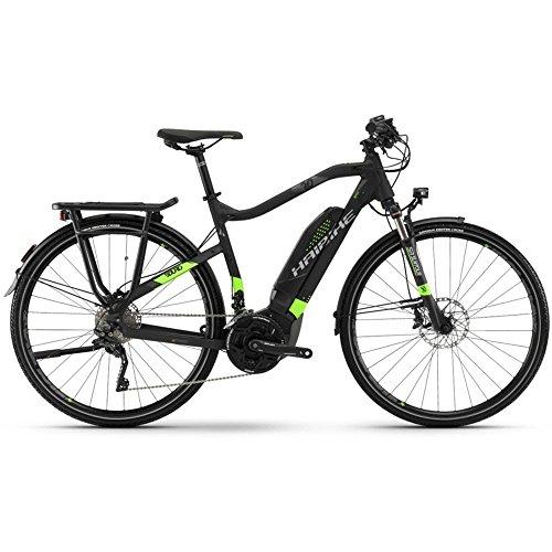 Haibike E-Bike SDURO Trekking 6.0 Herren 500Wh 20-G XT 18 HB YWC Black/Green/Titanium Medium
