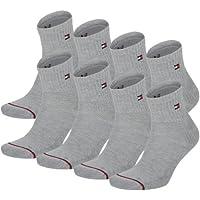 Tommy Hilfiger - Calcetines de deporte para hombre con suela de rizo (8unidades)