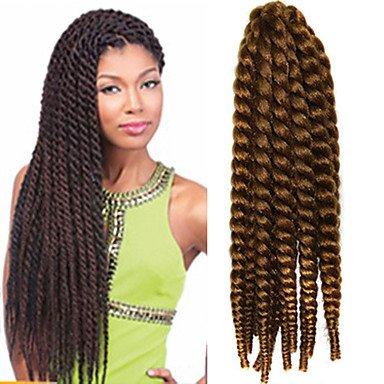 GANTA @ 12-24 Zoll Häkelarbeit Flechten Havana Mambo Afro Twist Haarverlängerung 27 # , #27