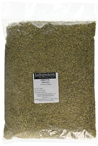 JustIngredients Essentials Oregano 250 g, Pack of 2