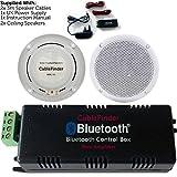 Best Ceiling Speakers - Wireless/Bluetooth Amplifier & 2x 80W Ceiling Speaker Kit–Compact Review