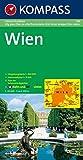 Wien: Gesamt-Stadtplan 1:20000 mit Straßenverzeichnis und Innenstadtplan 1:10000. (KOMPASS-Stadtpläne, Band 434)