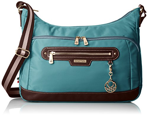 [Benetton] Shoulder Boat Type 4Be8490Sd Turquoise Turquoise Jp F/S