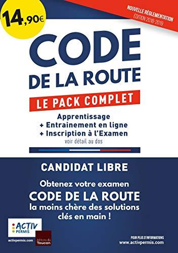 Code de la route - Le pack complet: Apprentissage, Entrainement, Inscription par Activ permis