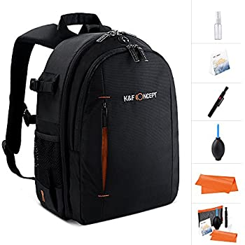 9c6da86c946 Camera Backpack,K&F Concept® Multifunction Security Camera DSLR Bag  Organizer Rucksack Waterproof with tripod holder,Rain Cover for Laptops  Tablets Canon ...