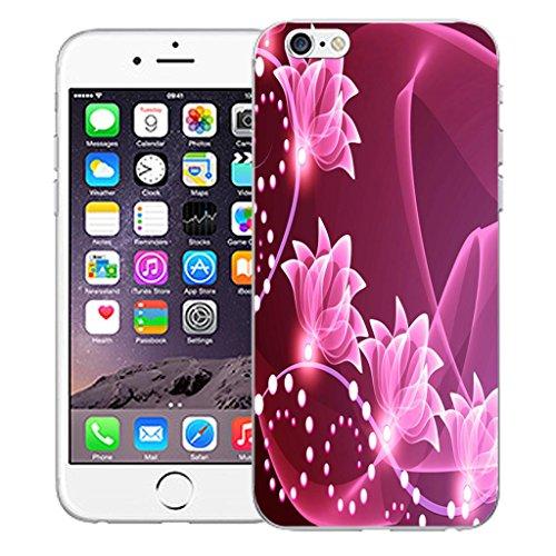"""Nouveau iPhone 6 4.7"""" inch clip on Dur Coque couverture case cover Pare-chocs - vert dragon Motif avec Stylet floral signature"""