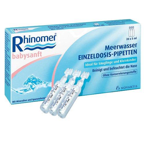 RHINOMER babysanft Meerwasser 5ml Einzeldosispip. 100 ml