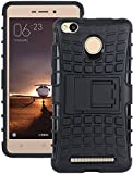 #8: PHNX ETECH (TM) II Xiaomi Redmi 3s Prime Defender Case II Defender Tough Hybrid Armour Shockproof Hard PC + TPU with Kick Stand Rugged Back Case Cover for XIAOMI MI REDMI 3s PrimeII Kick Stand Case for Xiaomi Redmi 3s Prime