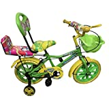 """Rising India 14"""" Kids Bicycle for 3-5 Years with More Soft and Comfortable Seat with Back Support and Basket"""