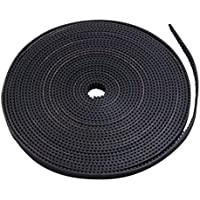 Tesseract open timing belt GT2 belt Rubber Aramid Fiber for 3D printer (2m, 10mm)