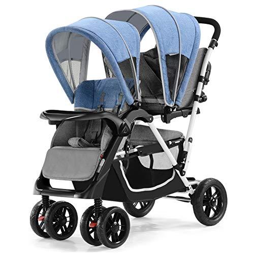 XUE Doppel-Trolley, Front-und Heckgewichts-Twins mit Pedalbiearbeitsart mit 5-Punktesy-Sicherheits-Harnen-Multi-Positions-Aufbereitungssitz -