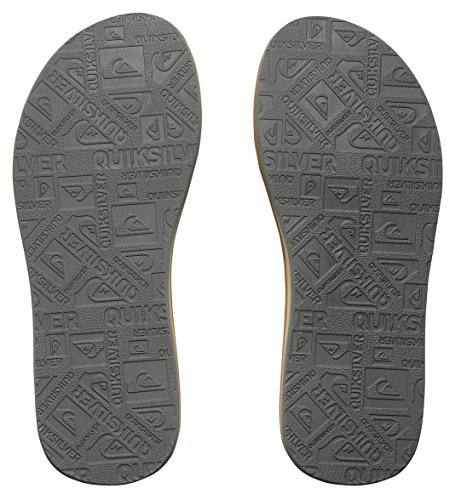 Quiksilver Quiksilver Herren Carver Nubuck Sandals, Herren Zehentrenner, Braun (Demitasse - Solid CTK0), 43 EU (9 Herren UK) -