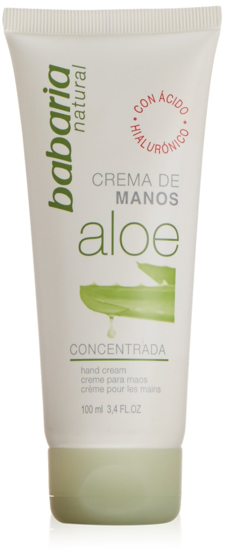 Babaria Aloe Vera Crema Manos 100 ml, 2 unidades