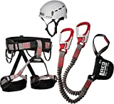 Klettersteigset LACD Ferrata Pro Evo + LACD Gurt Start + Helm LACD Protector 2.0 (S (Small))