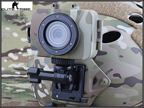 Paintball Chasse Combat Trail Monitors Caméra Tactique MINI Vidéo Enregistreur Photo W/LCD pour Casque Multicam MC