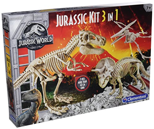 Clementoni - archéo Ludic Jurassic World - Coffret 3 in 1, 19062