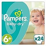 Pampers Baby Dry Windeln, Gr. 6+ (ab 16 kg), 1er Pack (1 x 24 Stück)