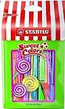 Premium-Filzstift - STABILO Pen 68 Mini - Sweet Colors - 15er Pack - mit 15 verschiedenen Farben im wiederverschließbaren Beutel