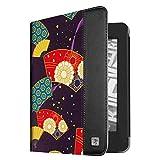 Fintie Kindle Paperwhite Custodia - Folio Cover con funzione veglia/sonno per Amazon Kindle Paperwhite (non Compatibile con All-New Kindle Paperwhite 10a Gen 2018), (Z-Floral Fan Purple)