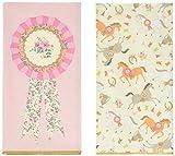 Talking Tables Pony Party Serviettes en Papier avec Motif Poney pour Anniversaire, Fête d'Enfants, Enfant, Fête de Petites Filles et Festivités, Multicolore (Paquet de 20)...