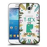 Head Case Designs T-Rex Seelen Tiere Abbildungen Ruckseite Hülle für Samsung Galaxy S4 Mini I9190
