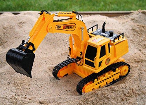 RC Baufahrzeug kaufen Baufahrzeug Bild 1: Unbekannt RC Bagger DIGGER V25 ferngesteuerter Kettenbagger Schaufellader*