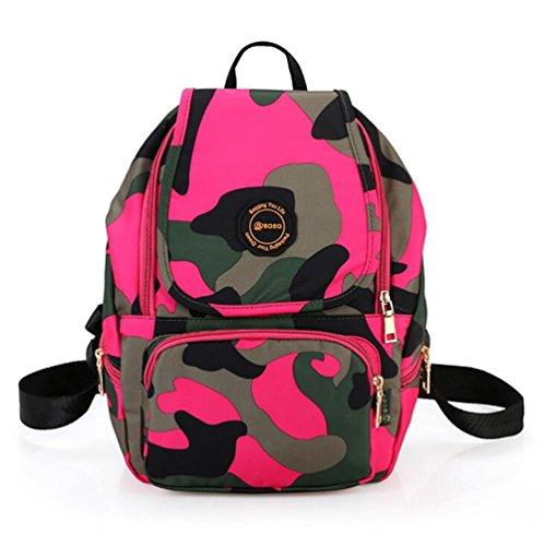 Wmshpeds Le donne 's spalle borsa borse coreano marea Sport Tempo libero Zaino grande scuola media di borsa degli studenti A