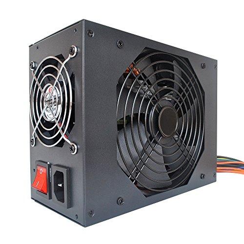 KKmoon Switching Server Netzteil 2600W 90-270V 【Professionelle Bergbau Maschine Stromquelle/93% Hohe Effizienz/für Ethereum S9 S7 L3 Rig Bergbau Bitcoin】