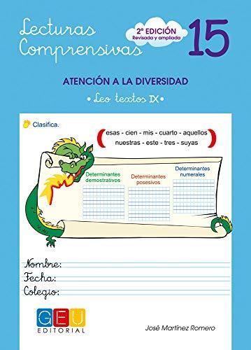 Lecturas comprensivas 15 - Leo Textos IX por Jose Martinez Romero epub