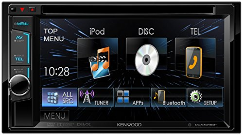 Kenwood DDX4015BT Multimediasystem (15,7 cm (6,18 Zoll), DVD-Spieler, Bluetooth-Freisprecheinrichtung) mit Doppel-DIN-VGA-Monitor schwarz - Kenwood Radio Kabelbaum