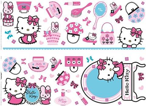 Sanrio - Stickers Muraux - Hello Kitty