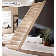 Profigold Space Saver Staircase Kit Savoy Solid Wood Beech/Spruce