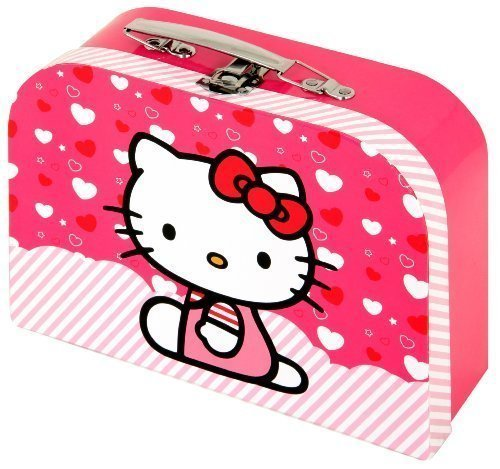 Hello Kitty Mini Maleta Neceser De Belleza con Asa Metálica by Sanrio