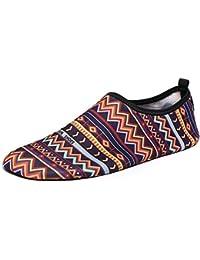d614ad015230e BaZhaHei Mujer Zapatillas Mujer Hombre Calcetines de Agua de Secado rápido  Nadar Surf Yoga Piel Zapatillas Deportivas Zapatos de Playa…
