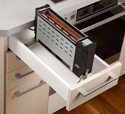 Ritter Einbautoaster ET 10 Langschlitztoaster Toaster ab 30-er Schubladenbreite *30041