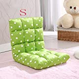 Fauler Sofa kleines Sofa Stuhl Schlafsofa Sessel Fenster und Stühle faul Stuhl ( farbe : Grün , größe : S )