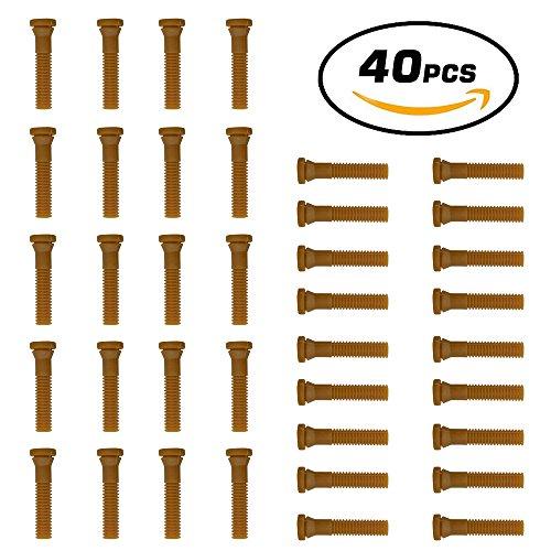 Huatuo® 40 PCS Dedos plucker pollo de goma al por mayor de máquina desplume dedos de goma