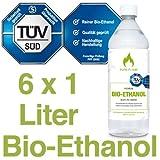 6 x 1L Bioethanol 96