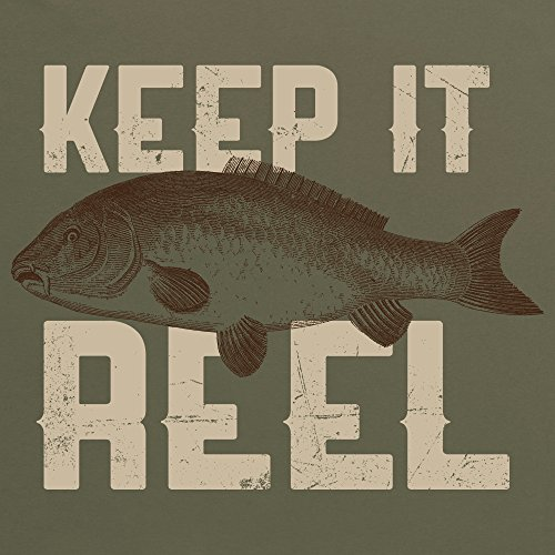 Keep It Reel - Carp T-Shirt, Damen Olivgrn