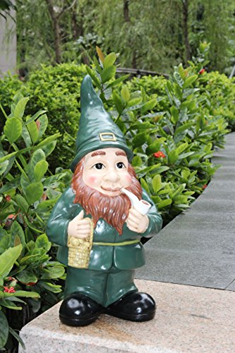 Lucky Irish Leprechaun Garden Statue Ornament Indoor Or